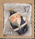 [Christmas - Santa Ornaments - Self-Adhesive Booklet Stamps, Typ EOI1]