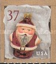 [Christmas - Santa Ornaments - Self-Adhesive Booklet Stamps, Typ EOJ1]