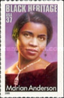 [Black Heritage - Marian Anderson - Self-Adhesive, Typ EOW]