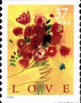 [Love Bouquet - Self-Adhesive Booklet Stamp, Typ EPI]
