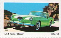 [America on the Move - Sports cars of the 1950's - Self-Adhesive, Typ ERA]