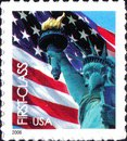 [Lady Liberty & Flag - Self-Adhesive (39 cents), Typ ESY1]
