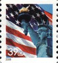 [Lady Liberty Flag - Coil Stamp, Typ ESY11]