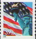 [Lady Liberty Flag - Self-Adhesive Coil Stamp, Typ ESY13]