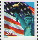 [Lady Liberty Flag - Self-Adhesive Coil Stamp, Typ ESY14]