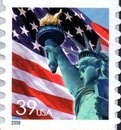 [Lady Liberty Flag - Self-Adhesive Coil Stamp, Typ ESY15]