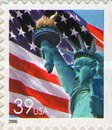 [Lady Liberty Flag - Self-Adhesive Booklet Stamp, Typ ESY16]