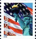 [Lady Liberty & Flag - Coil Stamp (39 cents), Typ ESY2]