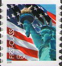 [Lady Liberty & Flag - Self-Adhesive Coil Stamp (39 cents), Typ ESY3]