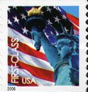 [Lady Liberty & Flag - Self-Adhesive Coil Stamp (39 cents), Typ ESY4]