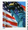 [Lady Liberty & Flag - Self-Adhesive Coil Stamp (39 cents), Typ ESY5]
