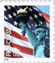[Lady Liberty & Flag - Self-Adhesive Booklet Stamps (39 cents), Typ ESY6]