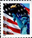 [Lady Liberty & Flag - Self-Adhesive Booklet Stamps (39 cents), Typ ESY8]