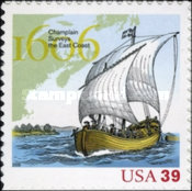 [The 400th Anniversary of the Exploration of the East Coast by Samuel de Champlain - Self-Adhesive, Typ EXR]