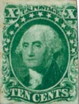[George Washingon, 1732-1799 - See Info, type F]
