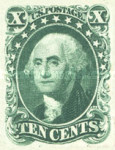 [George Washingon, 1732-1799 - See Info, Typ F2]