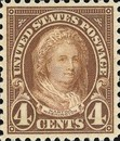 [Martha Washington, 1731-1802, Typ FA2]