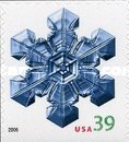[Holiday Snowflakes - Self-Adhesive - Denomination Higher than the