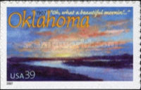 [The 100th Anniversary of Oklahoma Statehood - Self-Adhesive, type FAY]