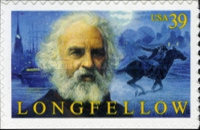 [The 200th Anniversary of the Birth of Henry W. Longfellow - Self-Adhesive, Typ FBC]