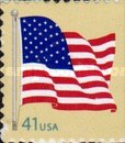 [American Flag - Self-Adhesive Booklet Stamps, Typ FBK11]