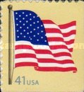 [American Flag - Self-Adhesive Booklet Stamps, Typ FBK12]