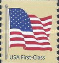 [American Flag - Self-Adhesive Coil Stamp, Typ FBK5]