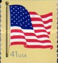 [American Flag - Self-Adhesive Coil Stamp, Typ FBK8]