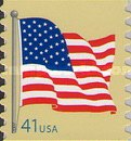 [American Flag - Self-Adhesive Coil Stamp, Typ FBK9]