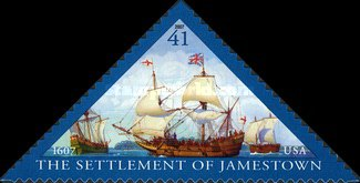 [The 400th Anniversary of The Settlement of Jamestown - Self-Adhesive, Typ FBT]