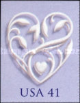 [Hearts - Self-Adhesive Booklet Stamps, Typ FDC]