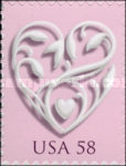 [Hearts - Self-Adhesive Booklet Stamps, Typ FDD]