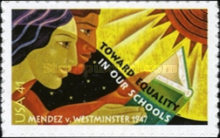 [Towards Equality in Our Schools - The 60th Anniversary of Mendez v. Westminster - Self-Adhesive, Typ FGG]