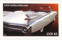 [Classic 1950's Cars - Self Adhesive Stamps, Typ FLZ]