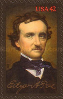 [The 200th Anniversary of the Birth of Edgar Allan Poe, 1809-1849 - Self Adhesive Stamp, Typ FMP]