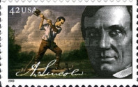 [The 200th Anniversary of the Birth of Abraham Lincoln, 1809-1865 - Self-Adhesive Stamps, Typ FMS]