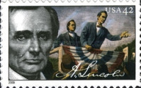 [The 200th Anniversary of the Birth of Abraham Lincoln, 1809-1865 - Self-Adhesive Stamps, Typ FMU]