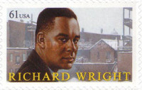 [The 100th Anniversary of the Birth of Richard Wright, 1909-1960 - Self-Adhesive Stamp, Typ FND]