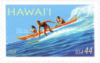 [The 50th Anniversary of Hawaii Statehood - Self-Adhesive Stamp, type FPG]