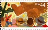 [Thanksgiving Day Parade - Self-Adhesive Stamps, Typ FPI]