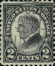 [Harding Memorial Issue - Stamps are 22¼mm High, Typ FQ3]