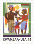 [Kwanzaa Festival - Self-Adhesive Stamp, Typ FQF]