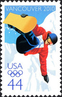 [Winter Olympic Games - Vancouver, Canada - Self-Adhesive Stamp, Typ FQJ]
