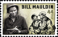 [William Henry Mauldin, 1921-2003 - Self-Adhesive Stamp, type FRA]