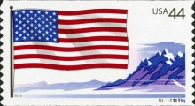 [Flags - Self-Adhesive Coil Stamps, Typ FRB]