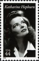 [Legends of Hollywood - Katherine Hepburn, 1907-2003 - Self-Adhesive Stamp, type FSA]