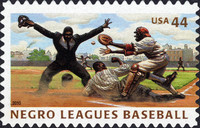 [Negro Leagues Baseball - Self-Adhesive Stamps, Typ FSE]