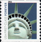 [Flag & Statue of Liberty - Self-Adhesive Coil Stamps (44 cents), Typ FTE]