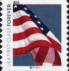 [Flag & Statue of Liberty - Self-Adhesive Coil Stamps (44 cents), Typ FTF]