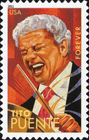 [Latin Music Legends - Self Adhesive Stamps (44 cents), Typ FTM]